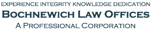 Palm Desert Law Firm, Bochnewich Law Offices Logo